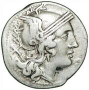 Denarius (Aelia: Caius Aelius, X/C. AL ROMA) – obverse