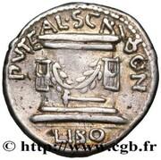 Denarius (Aemilia: Lucius Æmilius Lepidus Paullus) – reverse