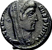 Follis - Constantinus I(VN MR; Heraclea) – obverse