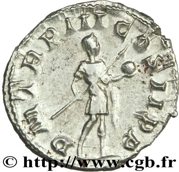 Siliqua engendro. Constancio II de anv. y Gordiano III de rev. Falsificación G1032