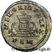 Follis - Constantius I (MEMORIA FELIX) – reverse