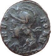 Follis - Constantinus Ist (VRBS ROMA; Nicomedia mint) – obverse