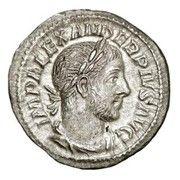 Denarius - Severus Alexander (MARS VLTOR) – obverse