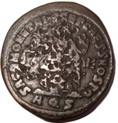 Follis - Diocletianus (SACR MONET AVGG ET CAESS NOSTR; Aquileia mint) – reverse