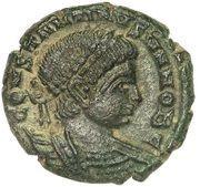 Follis - Constantinus II (GLORIA EXERCITVS; Lugdunum) – obverse