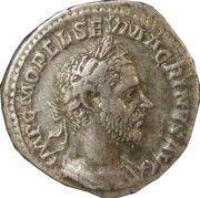 Denarius - Macrinus (FIDES MILITVM) – obverse