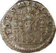 Denarius - Macrinus (FIDES MILITVM) – reverse