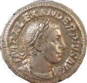 Denarius - Severus Alexander (IOVI PROPVGNATORI) – obverse