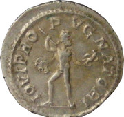 Denarius - Severus Alexander (IOVI PROPVGNATORI) – reverse