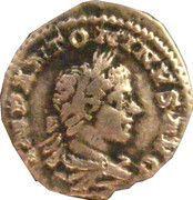Denarius - Elagabalus (PM TRP II COS II PP) – obverse
