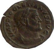 Follis - Diocletianus (GENIO POPULI ROMANI) – obverse