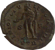 Follis - Diocletianus (GENIO POPULI ROMANI) – reverse