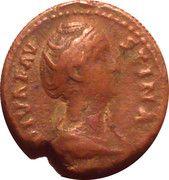 As - Faustina I (Ceres: AVGVSTA) – obverse