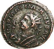 Antoninianus - Maximianus (PAX AVGG) – obverse