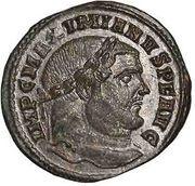 Follis - Maximianus (SACRA MONET AVGG ET CAESS NOSTR) – obverse