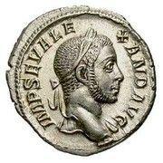 Denarius - Severus Alexander (VIRTVS AVG) – obverse