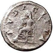Denarius - Julia Maesa (PVDICITIA) – reverse