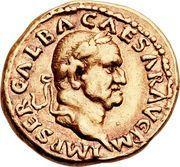 Aureus - Galba (DIVA AVGVSTA) – obverse