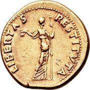 Aureus - Vitellius (LIBERTAS RESTITVTA) – reverse