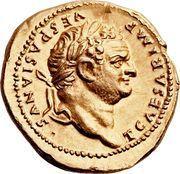 Aureus - Titus (AETERNITAS) – obverse