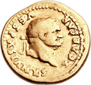 Aureus - Vespasianus (ANNONA AVG) – obverse