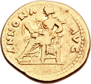 Aureus - Vespasianus (ANNONA AVG) – reverse