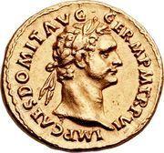 Aureus - Domitianus (IMP XIIII COS XIII CENS P P P) – obverse