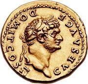 Aureus - Vespasianus (Horse) – obverse