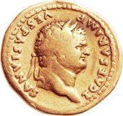 Aureus - Vespasianus (AETERNITAS) – obverse