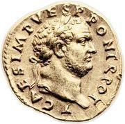 Aureus - Vespasianus (VIC AVG) – obverse