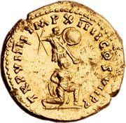Aureus - Titus (TR P VIIII IMP XIIII COS VII P P) – reverse