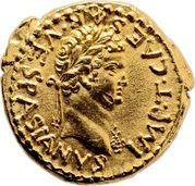 Aureus - Vespasianus (IVDAEA DEVICTA; Judaea mint) – obverse
