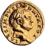 Aureus - Vespasianus (Quadriga) – obverse