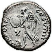 Denarius - Vespasianus (TR POT X COS VIIII) -  reverse