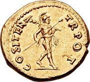 Aureus - Vespasianus (COS ITER TR POT) – reverse
