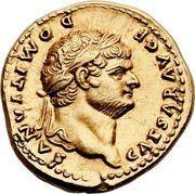 Aureus - Vespasianus (COS IIII) – obverse