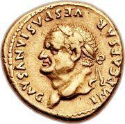 Aureus - Vespasianus (COS VIII) – obverse