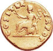 Aureus - Vespasianus (COS I TER TR POT) – reverse