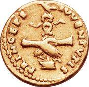 Aureus - Vespasianus (PRINCEPS IVVENTVTIS) – reverse
