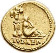 Aureus - Vespasianus (IVDAEA; Rome mint) – reverse