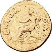 Aureus - Vitellius (CONCORDIA P R) – reverse