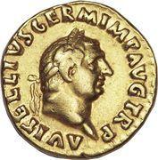 Aureus - Vitellius (PONT MAXIM) – obverse