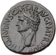 Dupondius - Claudius (CERES AVGVSTA SC; Rome mint) -  obverse
