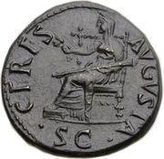 Dupondius - Claudius (CERES AVGVSTA SC; Rome mint) -  reverse