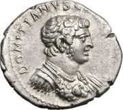 Denarius - Titus (CONCORDIA AVG; Strike as Caesar under Vespasian; Ephesus) – obverse