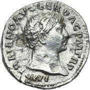 Denarius - Traianus (COS V P P S P Q R OPTIMO PRINC: Aequitas) -  obverse