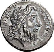 Denarius (Memmia: Gaius Memmius; C•MEMMI•C•F QVIRINVS / MEMMIVS•AED•CERIALIA•PREIMVS•FECIT) – obverse