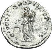 Denarius - Traianus (COS V P P S P Q R OPTIMO PRINC: Aequitas) -  reverse