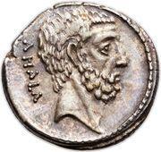 Denarius (Junia: Marcus Junius Brutus; BRVTVS / AHALA) – reverse