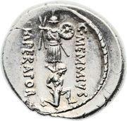 Denarius (Memmia: Gaius Memmius; C•MEMMI•C•F / C•MEMMIVS IMPERATOR) – reverse